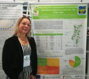 Lilian Viterbo representing WeGIx project at 2nd WSSSR, Curitiba 2019: Obrigada Lilian!